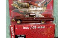 Cadillac Coupe DeVille  1976, масштабная модель, ERTL (Auto World), scale64