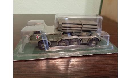 БМ-27 'Ураган', журнальная серия Русские танки (GeFabbri) 1:72, Eaglemoss, scale72