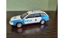 Полицейские Машины Мира №38 Audi A6 Аvant, журнальная серия Полицейские машины мира (DeAgostini), Полицейские машины мира, Deagostini, scale43