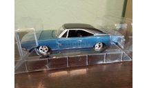 Dodge Charger 500 1969, масштабная модель, ERTL (Auto World), scale24