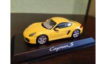 Porsche Cayman S (981), масштабная модель, Norev, scale43