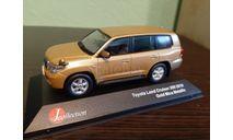 Toyota Land Cruiser 200 2010, масштабная модель, J-Collection, scale43