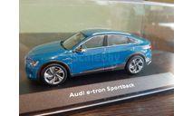 Audi e-tron Sportback 2020, масштабная модель, iScale, scale43