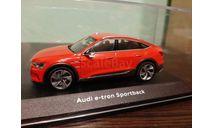 Audi e-tron Sportback, масштабная модель, iScale, scale43