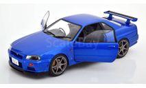 Nissan Skyline GT-R R34, масштабная модель, Solido, scale18