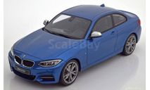 BMW M235i M Performance 2015 bluemetallic  1:18, масштабная модель, GT Spirit, 1/18
