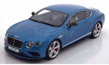 Bentley Continental GT V8S Coupe 2015 lightblue-metallic   1:18, масштабная модель, GT Spirit, 1/18