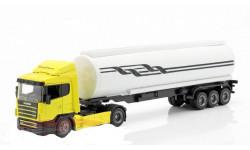 Scania R124 /400  + полуприцеп Цистерна