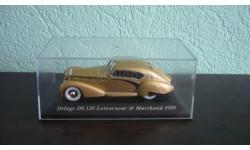 Delage D8 120 Letourneur*Marchand 1939, масштабная модель, Altaya, Museum Series (музейная серия), scale43