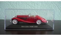 Mercedes-Benz 540K 1936, масштабная модель, Altaya, Museum Series (музейная серия), scale43