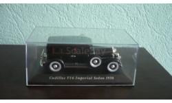 Cadillac V16 Imperial Sedan 1930, масштабная модель, Altaya, Museum Series (музейная серия), 1:43, 1/43