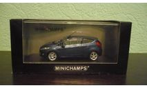 Ford Fiesta 2008, масштабная модель, Minichamps, 1:43, 1/43