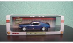 Ford Mustang boss 302  1969, масштабная модель, 1:43, 1/43, Highway 61