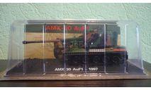 Танки Мира. №12 AMX 30 AuF1  1997, журнальная серия Танки Мира 1:72, scale72