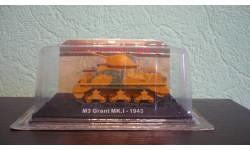 Танки Мира. M3 Grant MK.1 - 1943, журнальная серия Танки Мира 1:72, scale72