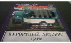 Автомобили на службе №68 ЦАРМ (ГАЗ-51) Курортный автобус, журнальная серия Автомобиль на службе (DeAgostini), Автомобиль на службе, журнал от Deagostini, scale43