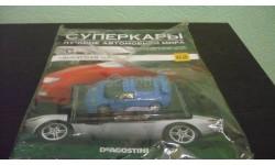 Суперкары №62 Bugatti EB110, журнальная серия Суперкары (DeAgostini), Суперкары. Лучшие автомобили мира, журнал от DeAgostini, scale43