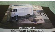 Полицейские Машины Мира №66 - Peugeot J7, журнальная серия Полицейские машины мира (DeAgostini), Полицейские машины мира, Deagostini, 1:43, 1/43