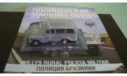 Полицейские Машины Мира №60 Willys Rural