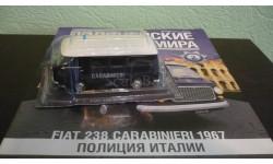 Полицейские Машины Мира №2 Fiat 238, журнальная серия Полицейские машины мира (DeAgostini), Полицейские машины мира, Deagostini, scale43