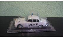 Полицейские Машины Мира №3 Jaguar MK II, журнальная серия Полицейские машины мира (DeAgostini), Полицейские машины мира, Deagostini, 1:43, 1/43