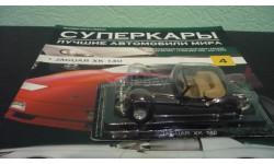Суперкары №4 JAGUAR XK 140, журнальная серия Суперкары (DeAgostini), Суперкары. Лучшие автомобили мира, журнал от DeAgostini, scale43