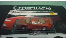 Суперкары №7 Saleen S7, журнальная серия Суперкары (DeAgostini), Суперкары. Лучшие автомобили мира, журнал от DeAgostini, scale43