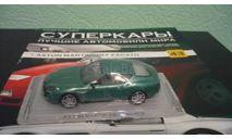 Суперкары №43 Aston Martin DB7 Zagato, журнальная серия Суперкары (DeAgostini), Суперкары. Лучшие автомобили мира, журнал от DeAgostini, scale43