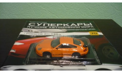 Суперкары №70 Porsche 911 GT3, журнальная серия Суперкары (DeAgostini), Суперкары. Лучшие автомобили мира, журнал от DeAgostini, scale43