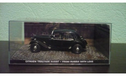 "Citroën Traction ""From Russia with love"", масштабная модель, Universal Hobbies, 1:43, 1/43"