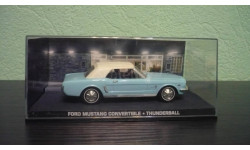 Ford Mustang Convertible 'Thunderball', масштабная модель, Universal Hobbies, 1:43, 1/43