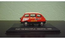 Fiat 750 Multipla, масштабная модель, Altaya, scale43
