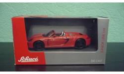 Porsche Carrera GT 2001 Cabriolet, масштабная модель, Schuco, scale43