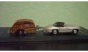 Mercedes-Benz 300 SL Roadster c кемпером, масштабная модель, Bauer/Cararama/Hongwell, scale43