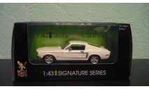 Ford Mustang GT 1968, масштабная модель, Signature, scale43