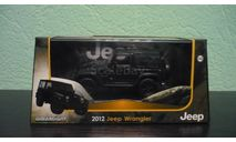 Jeep wrangler 2012, масштабная модель, Greenlight Collectibles, scale43