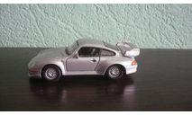 Porsche 911 GT2 (993) Ранняя Cararama. Двери открываются., масштабная модель, Bauer/Cararama/Hongwell, scale43