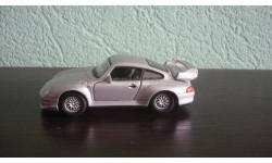 Porsche 911 GT2 (993) Ранняя Cararama. Двери открываются.