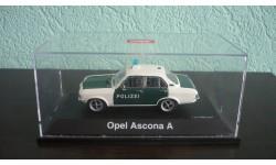 Opel Ascona (A) Police, масштабная модель, Schuco, scale43