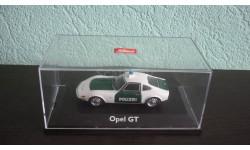 Opel GT Police, масштабная модель, Schuco, scale43