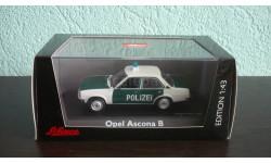 Opel Ascona (B) Police, масштабная модель, Schuco, scale43