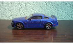 Ford Mustang GT 2006, масштабная модель, Bburago, scale43