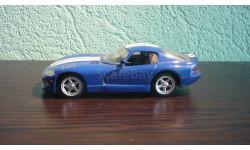 Dodge Viper 1996, масштабная модель, Del Prado, 1:43, 1/43