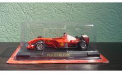 Ferrari F2001, масштабная модель, DeAgostini, scale43