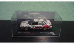 Subaru Legacy RS  1991, масштабная модель, Altaya Rally, scale43
