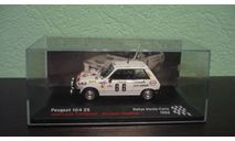 Peugeot 104 ZS Rally Monte Carlo  1982, масштабная модель, Altaya Rally, 1:43, 1/43