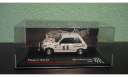 Peugeot 104 ZS 1982, масштабная модель, Altaya Rally, 1:43, 1/43