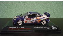 Peugeot 307 WRC 2007, масштабная модель, Altaya Rally, 1:43, 1/43