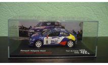 Renault Megane  1996, масштабная модель, Altaya Rally, 1:43, 1/43