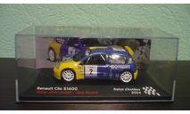 Renault Clio S1600  2004, масштабная модель, Altaya Rally, 1:43, 1/43
